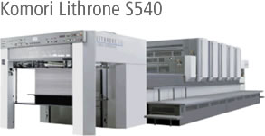 Komori Lithrone S540
